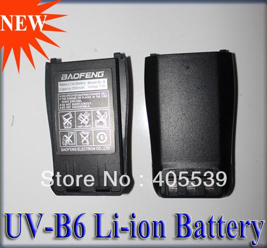 Гаджет  Li-ion battery for BAOFENG UV-B6  handie talkie 7.4V 1800mAh replacement Battery None Электротехническое оборудование и материалы