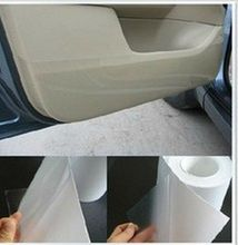 6M*20CM Rhino Skin Car stickers Bumper Hood Paint Protection Film Vinyl Clear Transparence car styling sticker accessories(China (Mainland))