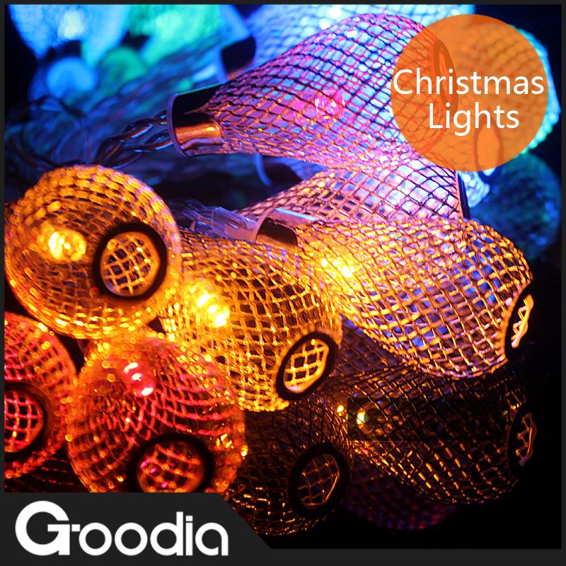 Luminarias Multicolor LED Rain Drop String Light,Bulb AA Battery,20ledXmas Wedding Fairy Curtain Outdoor Strip Decorative Lamp(China (Mainland))