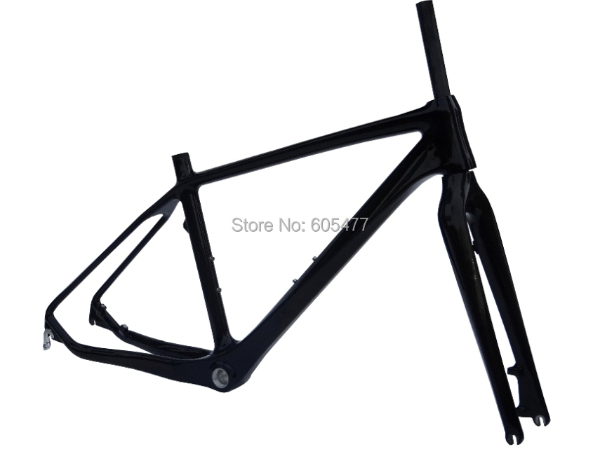 Brand New - Full Carbon Glossy 26ER Mountain Bike Frame MTB Bicycle Frame + Fork (FR203)(China (Mainland))