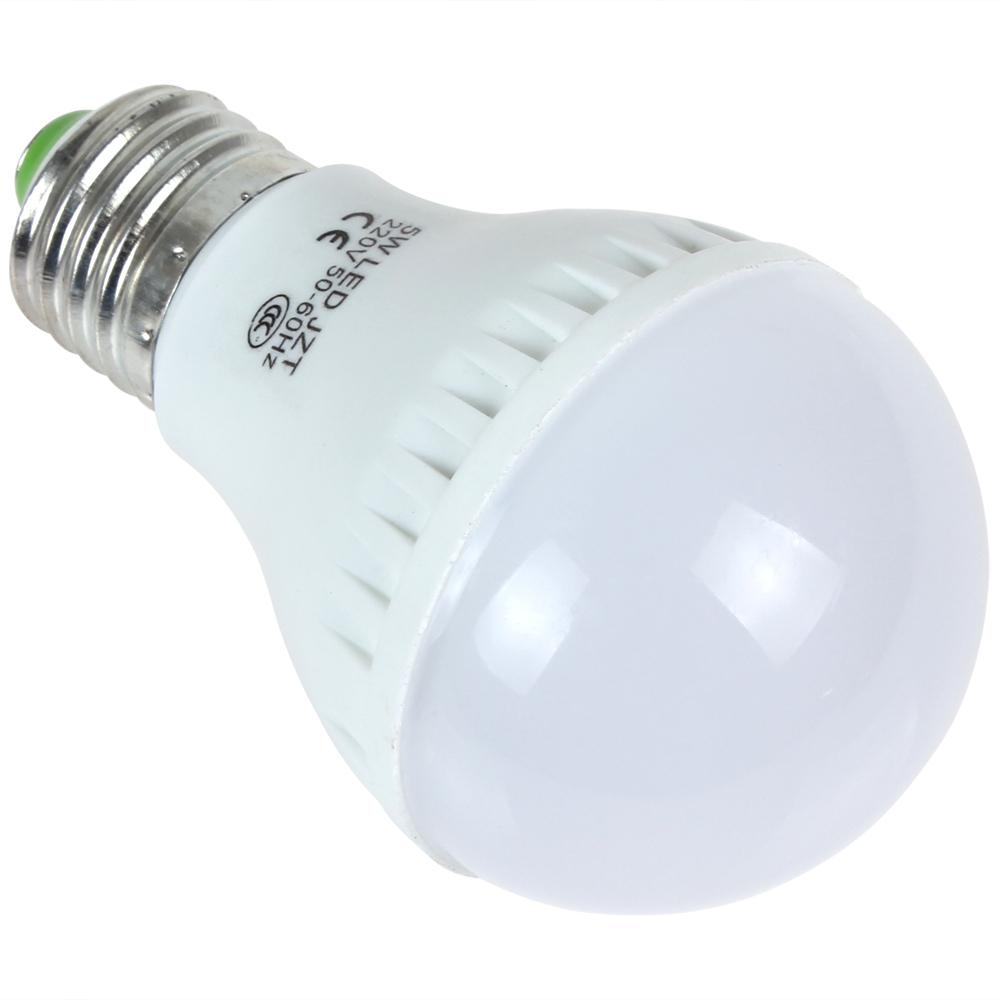 hot 5W E27 220V 12 x 2835 LED White / Warm White Light Energy-saving Bulb for Home Furnishing / Commercial Use(China (Mainland))