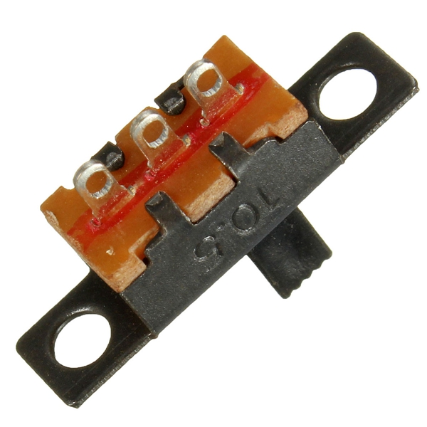 Lowest Price 20PCS Black Mini Size SPDT Slide Switches On Off PCB 5V 0 3A DIY