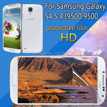 Free Shipping Anti Glare  HD Screen Protector for Samsung galaxy S4 i9500 9500 Screen Protective Film without Retail Packaging
