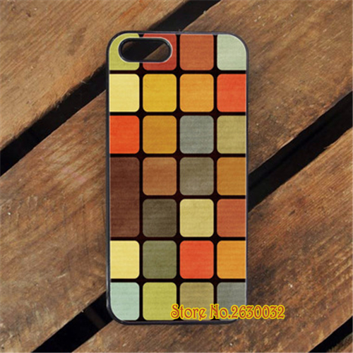RUBIK CUBE SQUARE PATTERN cell phone protection case cover for iphone 4 4s 5 5s se 5c 6 6s 6 plus 6s plus 7 7 plus #yf1110(China (Mainland))