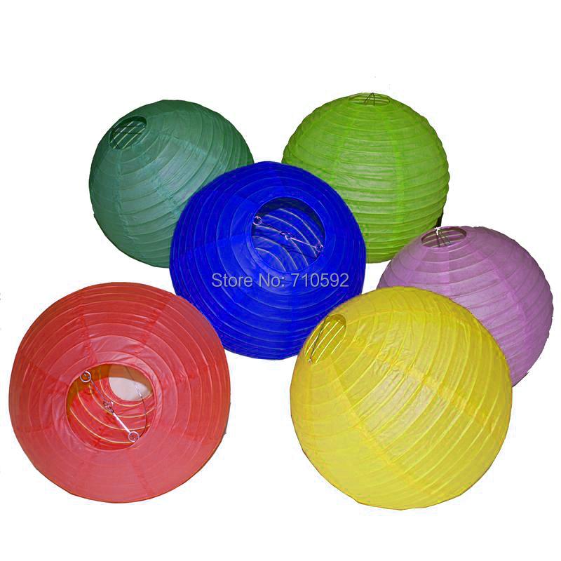 20CM 150pcs Chinese Paper Lanterns Balloon Wedding Party Home & Festival Hanging Decoration Fiesta(China (Mainland))