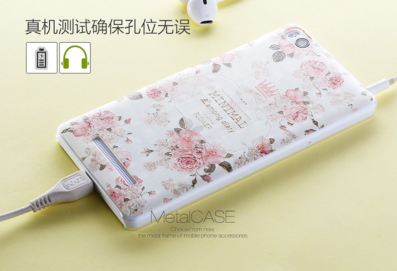 New 3D Relief Case  For Xiaomi Mi 4i Soft Frosted PC Hard Back Cover Case For Xiaomi 4i,Free Shipping
