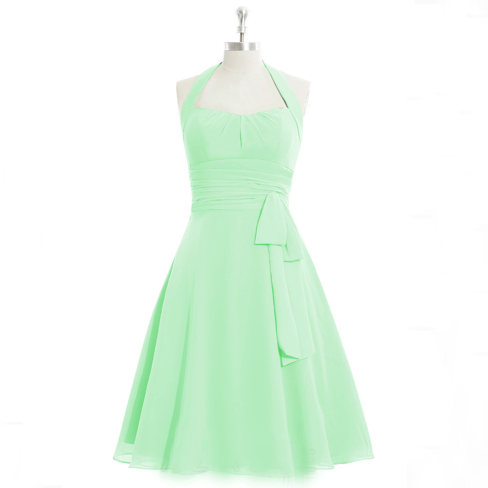 Buy b9172 a line mint green wedding party for Plus size wedding party dresses