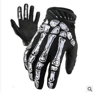 2015Black Fox Ghost Paw Racing Cycling Gloves Waterproof Bike Gloves Full Finger Bicycle Gloves with Pads size M/L/XL(China (Mainland))
