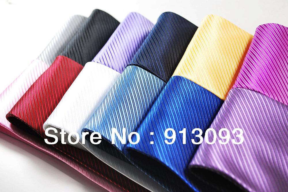 Retail 100% Silk Stripes Classic JACQUARD WOVEN Men's Tie Formal Party Wedding Necktie - Nivel APPAREL Co. Ltd. store