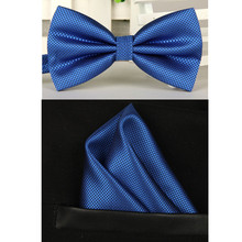 bowtie men vintage purple black yellow silver wedding dress suits bow tie pocket square handkerchief set lote(China (Mainland))