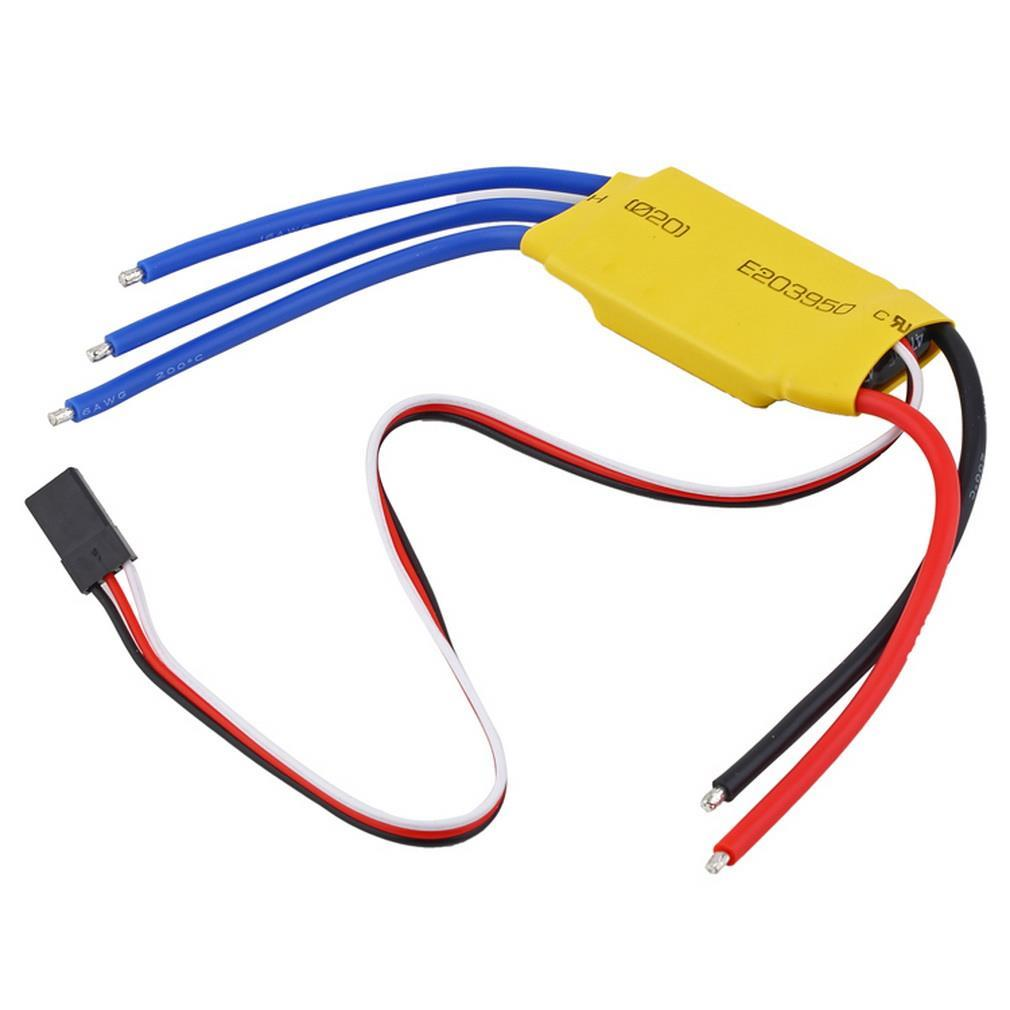 30A Brushless Motor Speed Controller RC BEC ESC T-rex 450 V2 Helicopter Boat(China (Mainland))