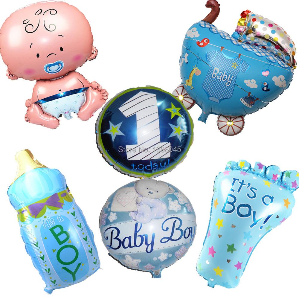 ... Balloons-Baby-Shower-Balloon-Kid-Baby-Boy-Birthday-Party-Decoration