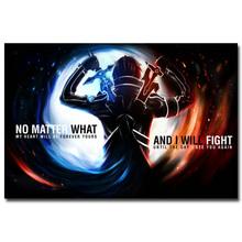Плакат с персонажем Кирито — Мастера меча онлайн 2