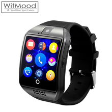 Smart Watch Apro Q18 2016 Android sim card Smartwatch Phone camera MTK6260 iOS Wear wach men PK DZ09 GT08 - WitMood Technology Co., Ltd. store