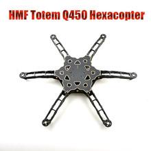 F11798 HMF Totem Q450 Carbon Fiber Hexa-copter Frame Kit for Multi-rotor FPV Drone UAV Better Than F450