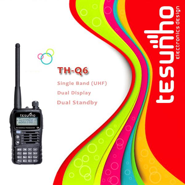 TESUNHO TH-Q6 fabulous fashionable hands free pc programmable high range powerful walkie talkies 8w(China (Mainland))