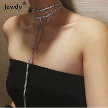 Buy Glam choker 2017 Rhinestone Choker Necklace Crystal Chain Statement Necklace Trendy Chocker Wedding Jewelry Mar for $1.61 in AliExpress store