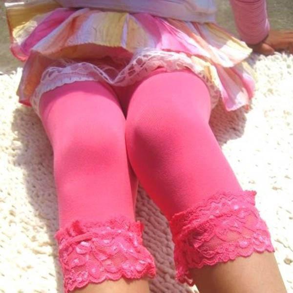פעוטות, ילדים, בנות תחרה קטיפה צועד גרביונים גרב שאיפה 5-9Y
