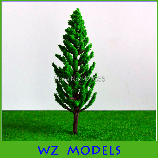 Plastic miniature green scale model tree for sale 130mm<br><br>Aliexpress