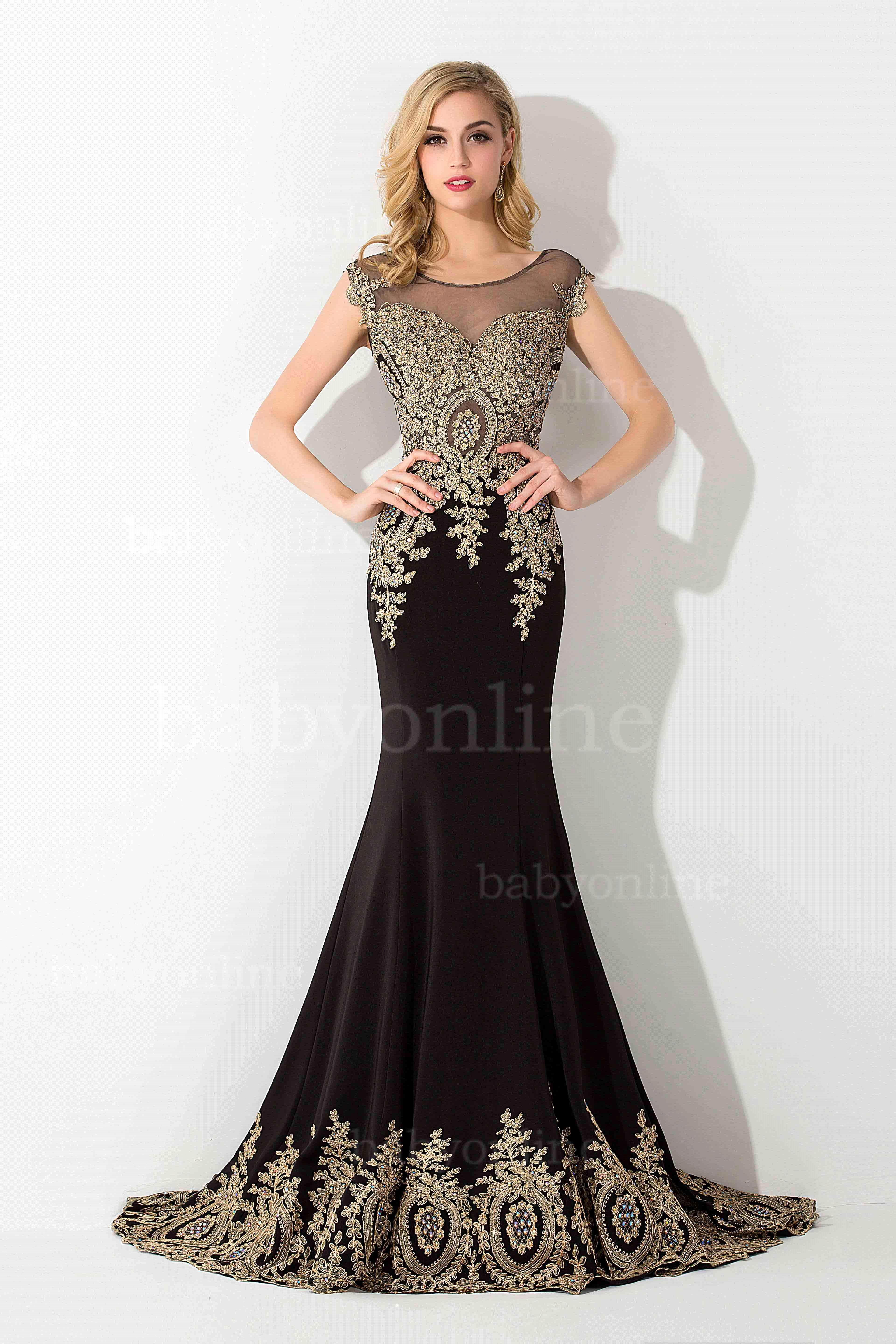 Evening dresses photo: Size 18 evening dresses with sleeves
