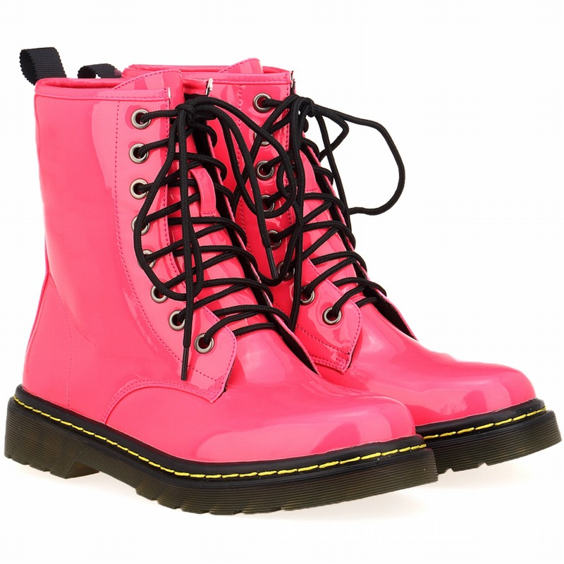LOSLANDIFEN Hot sell PU leather round head short straw Martin boots women boots - women's shoes factory direct 35-42(China (Mainland))