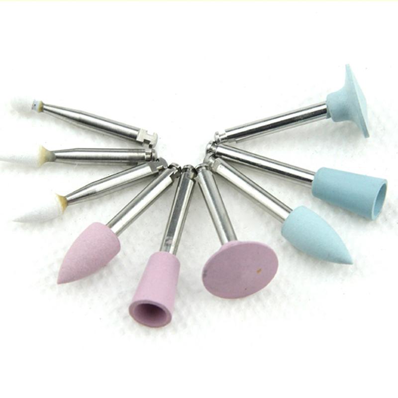 36pcs Dental Laboratory Ceramic Silicone Polisher Burs for Composite Resin 9pcs/set