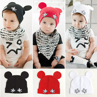 NEW Solid Cotton Soft Infant Child Boys Girls Summer Style Newborn baby Children's Sun hat cap(China (Mainland))
