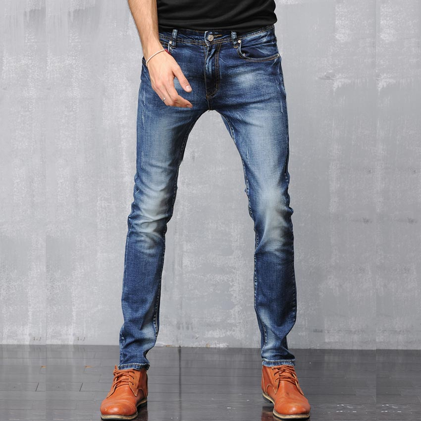 2013 new arrival men clothing fashion dark color straight
