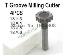 Buy Free 4pcs/set 18mm Straight shank T cutter superhard T T slot cutter cnc milling machine tool 18mm*,3mm, 4mm,5mm,6mm for $25.06 in AliExpress store