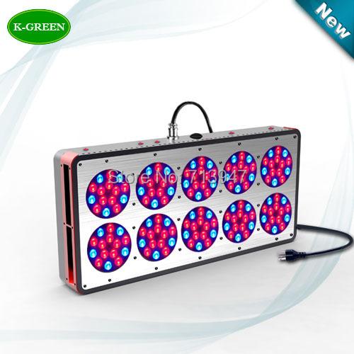 1X high quality 450W apollo LED grow light hot sales plant grow led bulb express free shipping(China (Mainland))