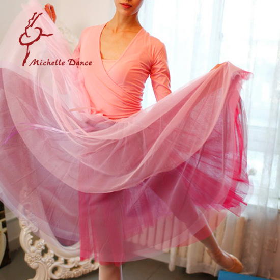 Big Discount For 4 Michelle Dance Adult Women Elastic Waistband Dance Fairylike Ballet Skirt Single Layer 5 Colors Mesh FabricОдежда и ак�е��уары<br><br><br>Aliexpress