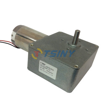 DC 24V/28rpm/60kg.cm High Torque Worm Reducer Motor With Gearbox,Geared Motor,Free Shipping