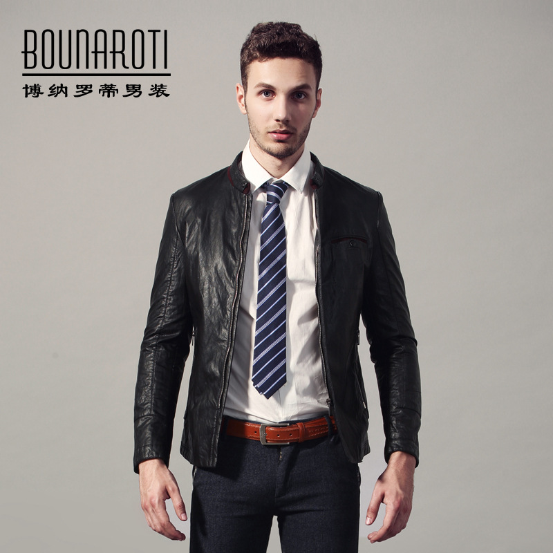Young Mens Leather Jackets - Jacket