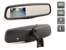 OEM style 4.3 inch HD Car Parking Rearview Mirror Monitor (800×480) for a Rerview Camera, AVIS AVS0410BM