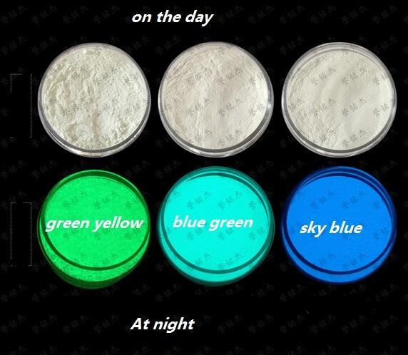 No Radiation Luminous Glow Powder Fluorescent Super Bright Glow in the Dark Powder Noctilucent Pigment DIY Art Paint 150G(China (Mainland))