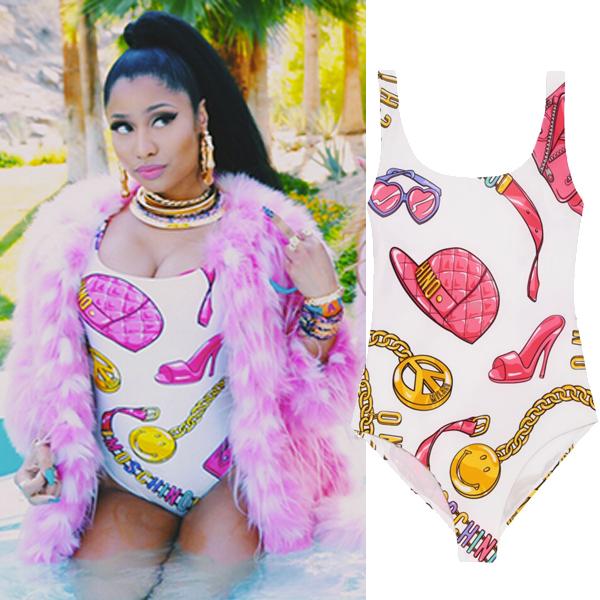 Женский закрытый купальник 2015 Nicki Minaj женский закрытый купальник unknow minaj emoji