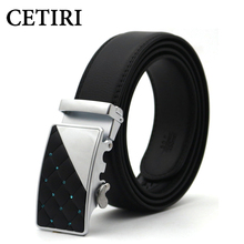 Buy Mens Belts Luxury Brand Designer Belts Men High Genuine Leather Metal Automatic Buckle Strap Male Cintos Para Homens for $9.99 in AliExpress store