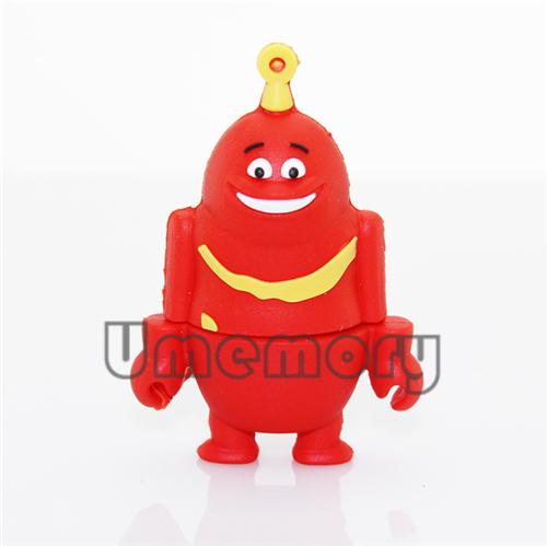 Retail genuine 2GB/4GB/8GB/16GB/32GB pen drive memory stick usb flash drive novelty cartoon Teletubbies gift drop Free shipping(China (Mainland))