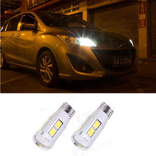 2 x T10 W5W T16 LED Parking Lights Sidelight No Error For AUDI A2 A3 8L 8P A4 B5 B6 A6 4B 4F A8 D2 TT Q3 Q5 Q7 C5 C6 C7 S2 S4(China (Mainland))