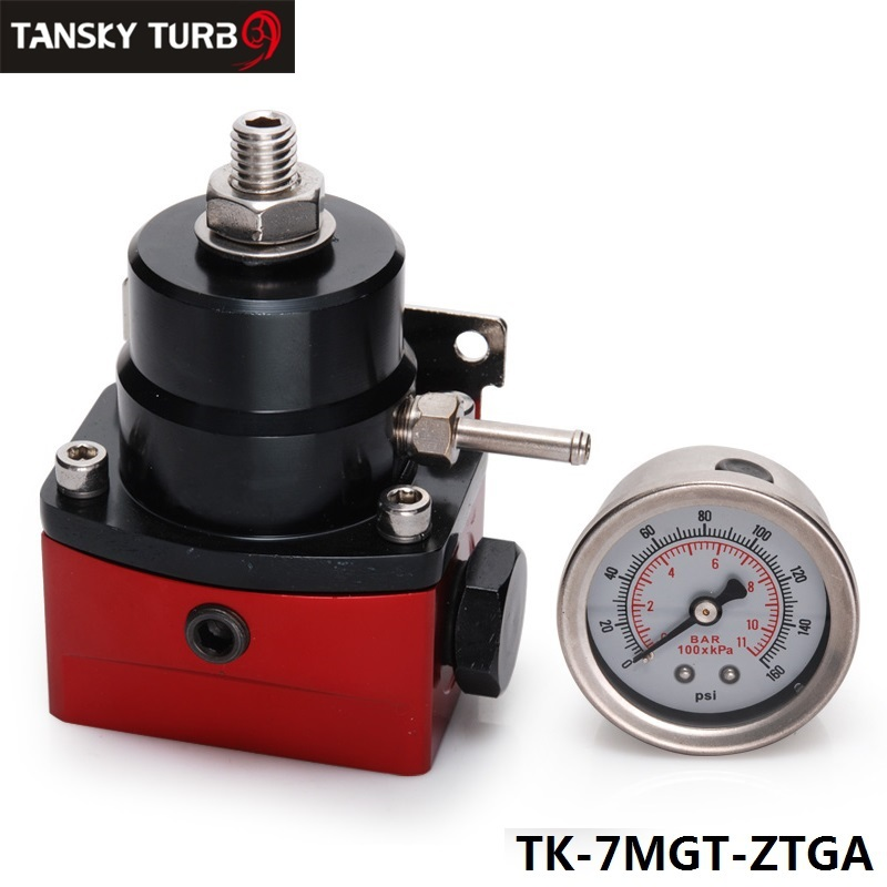 TANSKY - Universal - 6 An Efi Fuel Injection Pressure Regulator Black-Red TK-7MGT-ZTGA<br><br>Aliexpress