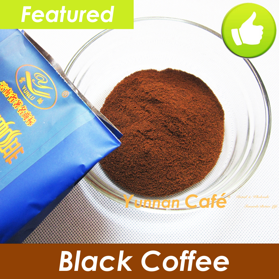 Featured YunLu 100 Arabica Organic Pure Instant Black Coffee Without Sugar Creamer 200G 0 44LB Global