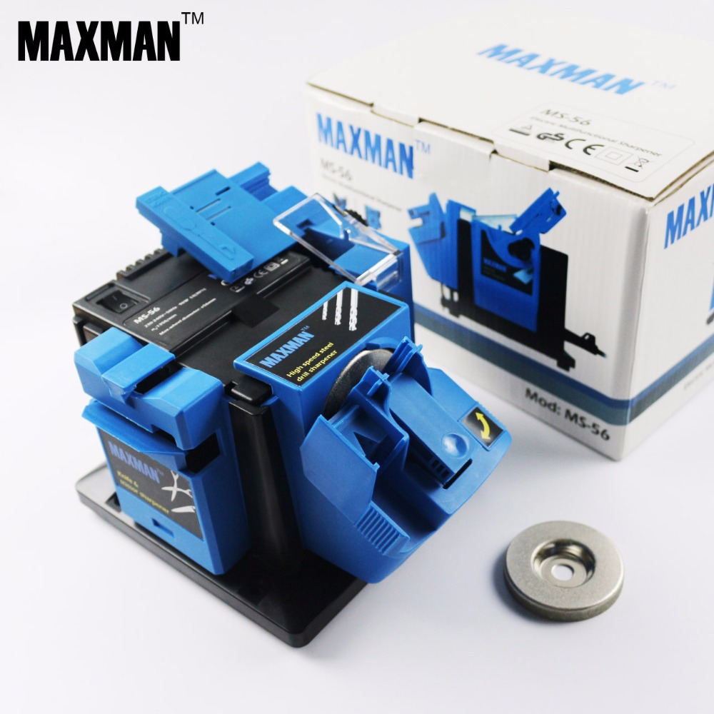 MAXMAN MS-56 Multifunctional Electric Knife & Scissor Sharpener Chisel & Plane & HSS Drill Sharpening Machine Household Grinder(China (Mainland))
