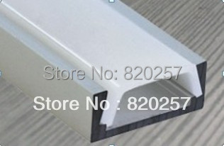 DHL/FEDEX /EMS Free shipping 10pcs/lot 1m LED profile housing 15*6*1000MM with PC cover and end cap(China (Mainland))