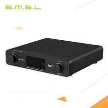 Buy SMSL A6 AK4452 50Wx2 DSD512 Digital Decoder HIFI Audio Power Amplifier OPTIC/Coaxial/XMOS/USB DAC 384KHZ/32Bit ICE Power 50ASX2 for $449.99 in AliExpress store