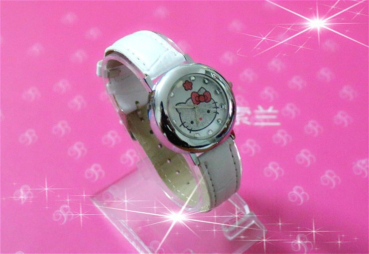 2014Hello Kitty holiday fashion brand watch best choice gifts children - Young personality store