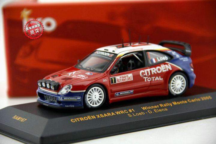 Special offer new IXO Citroen Senna CITROEN 1:43 XSARA WRC alloy model car<br><br>Aliexpress