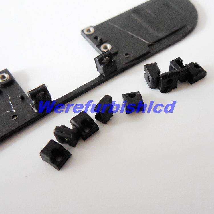 """Small plastic head For iPhone 6 4.7 """"small parts LCD Front Frame Rubber sleeve Free shipping"""