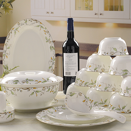 bone china unit of dinner porcelain dinner plate set crockery set