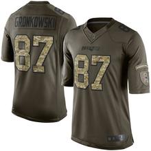 Rob Gronkowski Jerseys NFL New England Game Football Jersey - Navy Blue Silver(China (Mainland))
