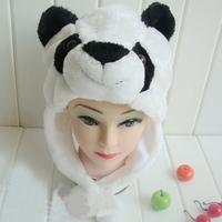 унисекс мужчин женщин детей маска мультфильм животных зимние теплые шапки пушистые Кап